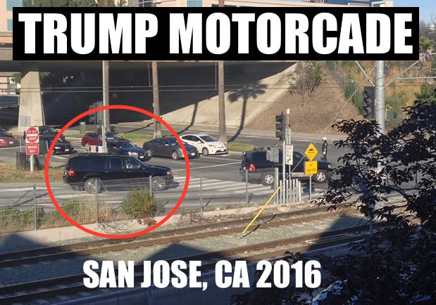 Donald Trump in San Jose California 2016