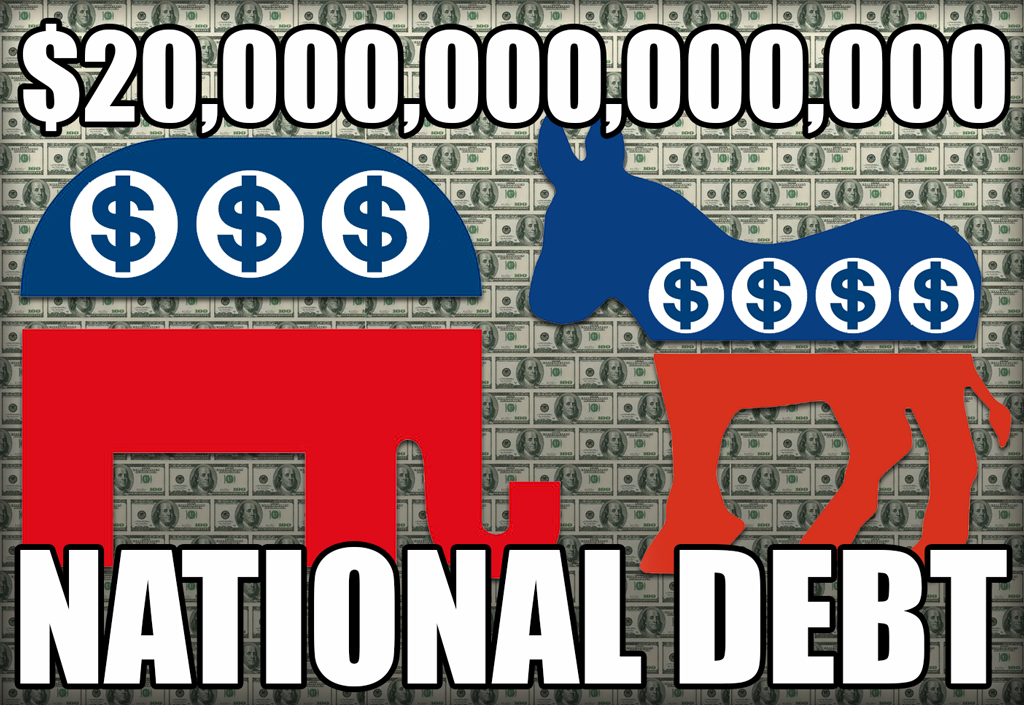 Gary Johnson warns that National Debt is the greatest security threat facing Americans